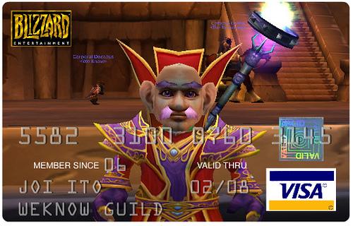 WarcraftVisaCard