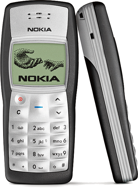 El mejor celular creado ¿Nokia 1100?