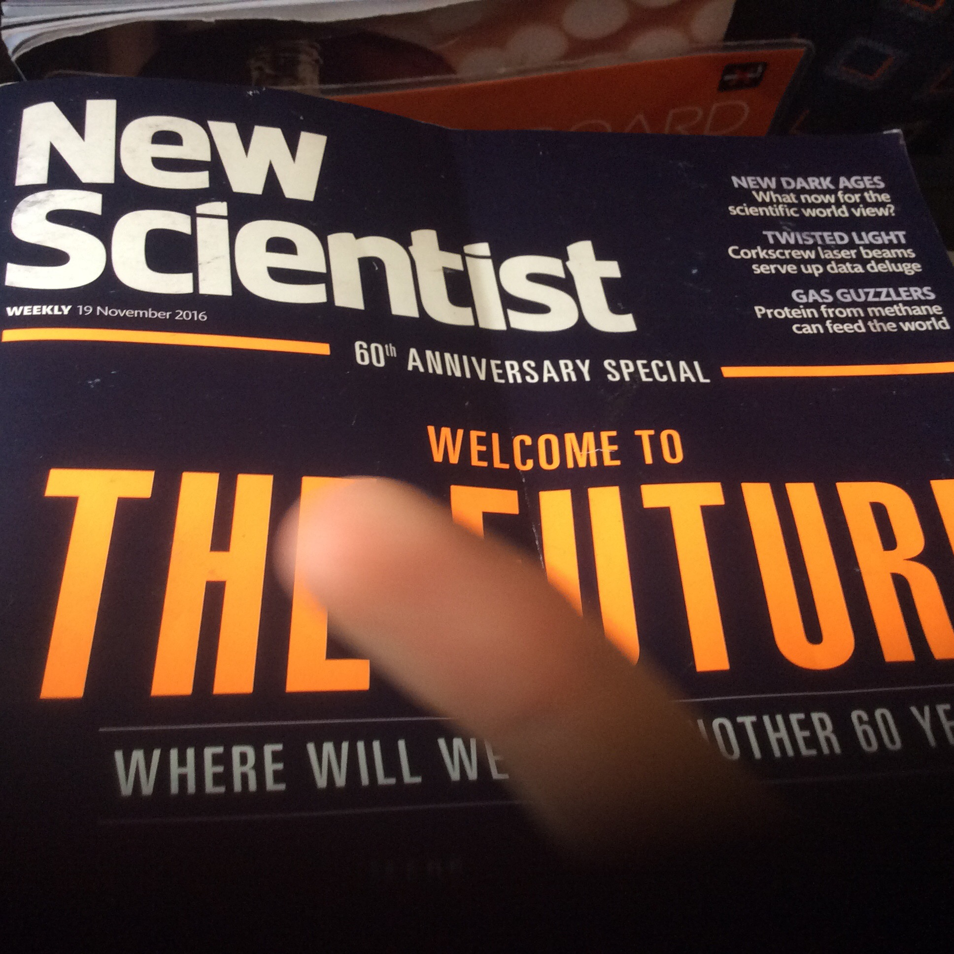 Seven futures from New Scientist – the next wave